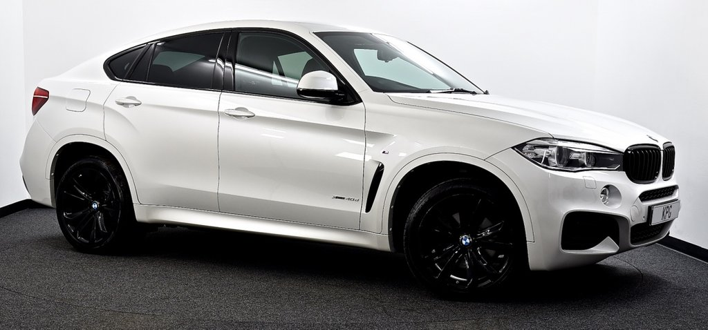 USED 2016 16 BMW X6 3.0 40d M Sport Auto xDrive (s/s) 5dr Reverse Cam, Xenons, Pro Media