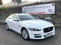 USED 2015 15 JAGUAR XE 2.0 PRESTIGE 4d AUTO 161 BHP FULL JAGUAR SERVICE HISTORY+1 OWNER+SATELLITE NAVIGATION+BLACK LEATHER INTERIOR