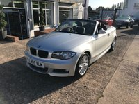 USED 2009 59 BMW 1 SERIES 2.0 118I M SPORT 2d AUTO 141 BHP AUTOMATIC-BLUETOOTH-PETROL-ELECTRIC ROOF-HEATED SEATS-AIR CON