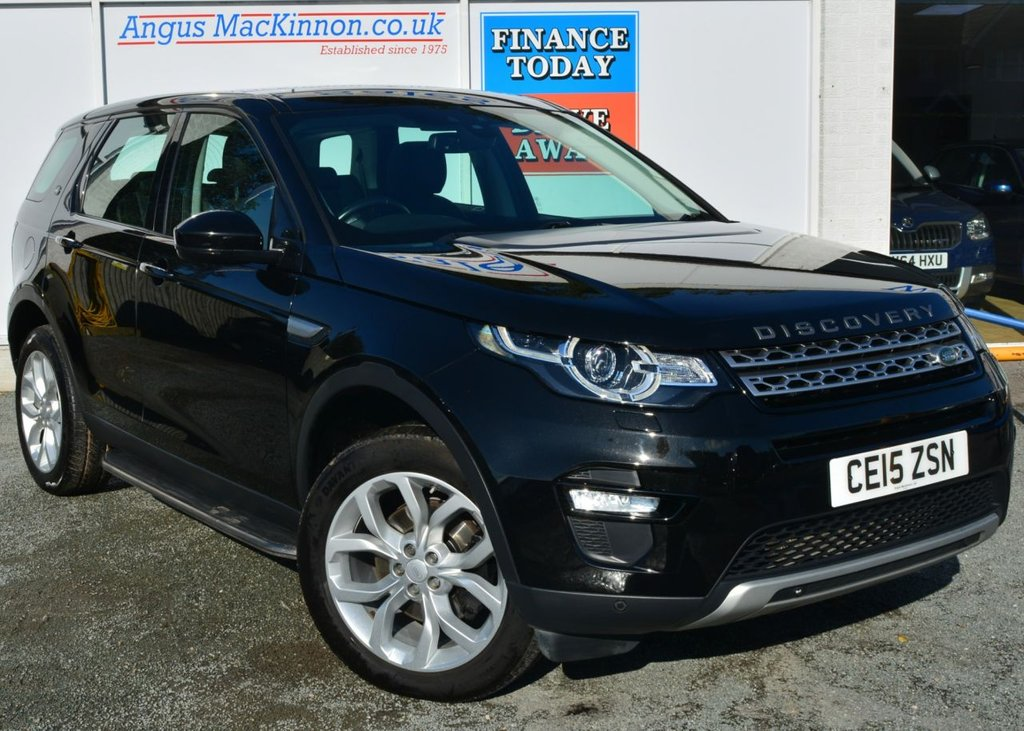 USED 2015 15 LAND ROVER DISCOVERY SPORT 2.2 SD4 HSE 5d Family 7 Seat SUV 4x4 with Massive High Spec Recent Service MOT and Ready to Finance and Drive Away Today MASSES OF HIGH SPEC