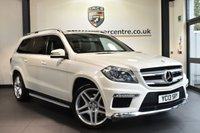 "USED 2013 13 MERCEDES-BENZ GL CLASS 3.0 GL350 CDI BLUETEC AMG SPORT 5DR AUTO 258 BHP excellent service history Finished in a stunning diamond metallic white styled with 21"" alloys. Upon opening the drivers door you are presented with full leather interior, excellent service history, comand satellite navigation, panoramic sunroof, bluetooth, rear-view camera, electric heated seats, dab radio, active park assist, AMG styling package, heated screen wash system, light package, lumbar suppor"