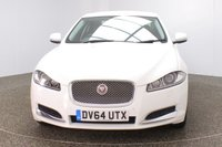 USED 2014 64 JAGUAR XF 3.0 D V6 LUXURY 4DR AUTO 240 BHP SERVICE HISTORY + HEATED LEATHER SEATS + SATELLITE NAVIGATION + REVERSE CAMERA + PARKING SENSOR + BLUETOOTH + CRUISE CONTROL + CLIMATE CONTROL + MULTI FUNCTION WHEEL + DAB RADIO + XENON HEADLIGHTS + ELECTRIC WINDOWS + ELECTRIC MIRRORS + 17 INCH ALLOY WHEELS