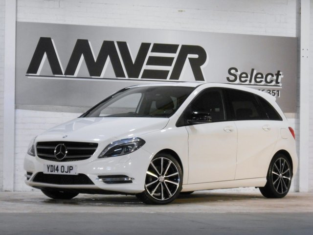 2014 14 MERCEDES-BENZ B CLASS 1.5 B180 CDI BLUEEFFICIENCY SPORT 5d 109 BHP