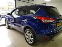 USED 2014 64 FORD KUGA 2.0 ZETEC TDCI 4x4 5dr+LOW MILES+AUTO PARK+F/REAR PARKING SENSORS+QUICK CLEAR SCREEN+POWER FOLDING MIRRORS+ROOF BARS+ALLOYS+