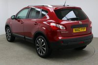 USED 2012 62 NISSAN QASHQAI 1.5 N-TEC PLUS DCI 5d 110 BHP FINISHED IN A STUNNING RED + FULL SERVICE HISTORY + BLUETOOTH + DAB RADIO + CD/AUX + DUAL ZONE CLIMATE CONTROL + AIR CON + MULTI FUNCTION STEERING WHEEL + CRUISE CONTROL + ELECTRIC MIRRORS + ELECTRIC WINDOWS + 360 CAMERA SYSTEM + ELECTRIC SUNROOF + SPEED LIMITER + AUTO LIGHTS + AUTO WIPERS + 18 INCH DIAMOND CUT ALLOY WHEELS