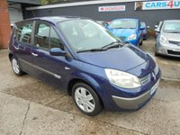 USED 2005 05 RENAULT SCENIC 1.6 DYNAMIQUE 16V 5d 116 BHP