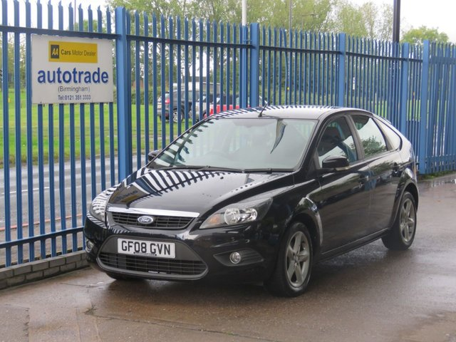 USED 2008 08 FORD FOCUS 1.6 ZETEC 5dr Air con Alloys Full Ford Service History 7 Stamps