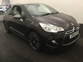 2014 CITROEN DS3 1.6 DSTYLE PLUS 3d AUTO 120 BHP £6440.00