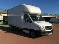 USED 2017 67 MERCEDES-BENZ SPRINTER  2.1 314CDI  140 BHP LUTON BOX LWB EURO 6 (KY67MRV) ONE OWNER FROM NEW