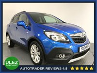 USED 2016 66 VAUXHALL MOKKA 1.6 SE CDTI 5d AUTO 134 BHP FULL VAUXHALL HISTORY - 1 OWNER - PARKING SENSORS - LEATHER - AIR CON - BLUETOOTH - DAB - CRUISE - PRIVACY