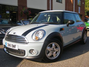 2011 MINI HATCH ONE 1.6 ONE 3d 98 BHP £SOLD