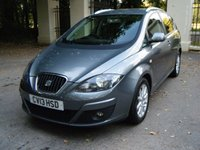 2013 SEAT ALTEA XL 1.6 TDI CR ECOMOTIVE SE COPA 5d 105 BHP £4995.00