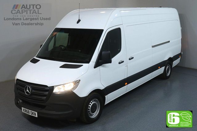 2018 68 MERCEDES-BENZ SPRINTER 2.1 314 CDI 141 BHP LWB HIGH ROOF EURO 6 ENGINE REVERSE CAMERA, FRONT- REAR PARKING SENSORS