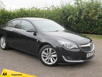 USED 2015 65 VAUXHALL INSIGNIA 1.6 SRI NAV CDTI S/S 5d 134 BHP * 12 MONTHS FREE AA MEMBERSHIP * 128 POINT AA INSPECTED *