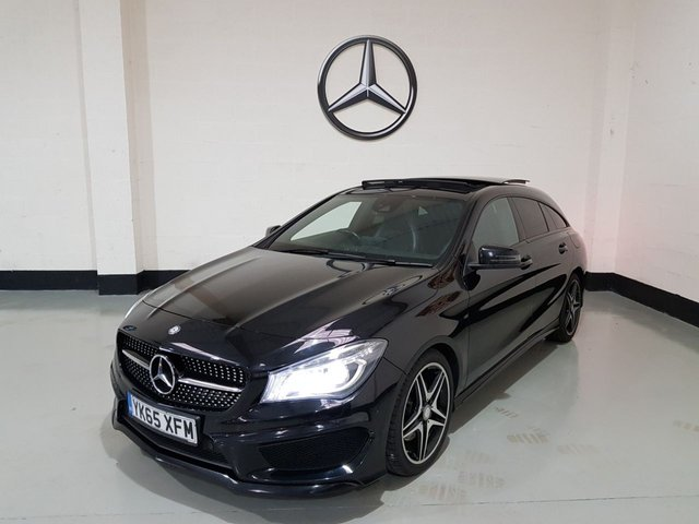 USED 2015 65 MERCEDES-BENZ CLA 2.1 CLA 220 D AMG LINE 5d 174 BHP Panoramic Sunroof /Sat-Nav/Heathed Seats/Power Tailgate