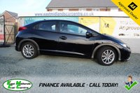 USED 2012 12 HONDA CIVIC 1.8 I-VTEC SE 5d 140 BHP PETROL BLACK EXCELLENT CONDITION