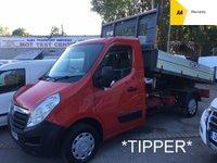 2012 VAUXHALL MOVANO TIPPER 2.3 F3500 L2H1 CDTI 123 BHP