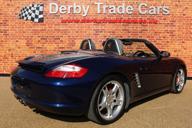 PORSCHE BOXSTER at Derby Trade Cars