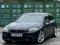 USED 2013 62 BMW 5 SERIES 3.0 535d M Sport Touring 5dr DAB/NAV/HEATED STEERING/XENON
