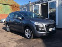 USED 2011 61 PEUGEOT 3008 1.6 SPORT HDI 5d AUTO 112 BHP FINANCE ME TODAY...