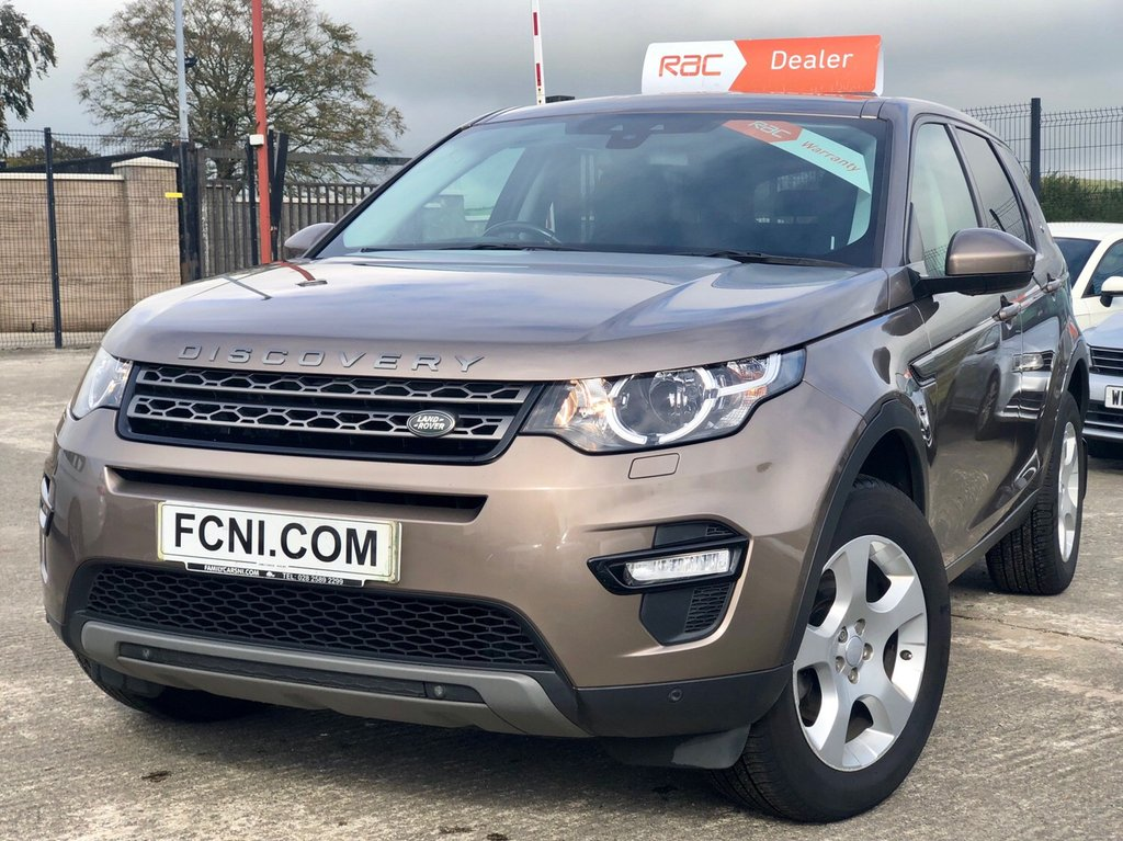 USED 2016 LAND ROVER DISCOVERY SPORT 2.0 TD4 SE TECH 5d 150 BHP *FULL Land Rover History*