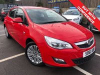 USED 2011 61 VAUXHALL ASTRA 1.4 EXCITE 5d 98 BHP FULL MAIN DEALER SERVICE HISTORY