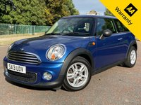 USED 2013 13 MINI HATCH ONE 1.6 ONE D **ZERO TAX** £1800 of EXTRAS