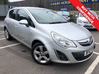 USED 2011 61 VAUXHALL CORSA 1.2 SXI A/C 5d 83 BHP COMES WITH 12 MONTH MOT