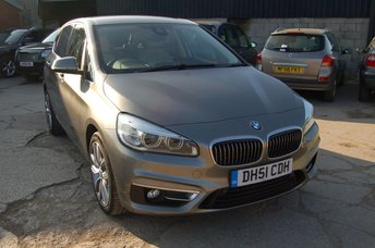 2015 BMW 2 SERIES 2.0 220I LUXURY ACTIVE TOURER 5d AUTO 189 BHP £14650.00