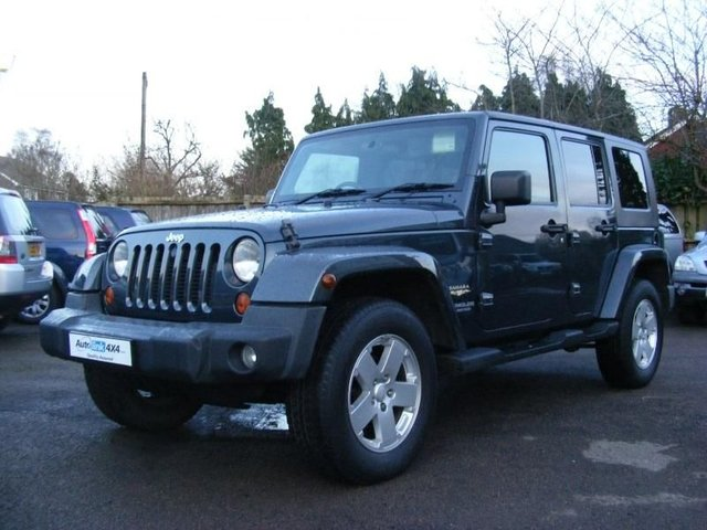 2008 08 JEEP WRANGLER Sahara Unlimited Full Jeep History