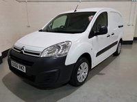 2016 CITROEN BERLINGO 1.6 625 ENTERPRISE L1 BLUEHDI 1d 74 BHP VAN £5995.00