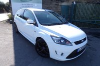 USED 2010 10 FORD FOCUS 2.5 ST-3 3d 223 BHP Two Owners Service History Full Black Leather Seats