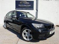 USED 2013 13 BMW X1 2.0 XDRIVE18D M SPORT 5d AUTO 141 BHP