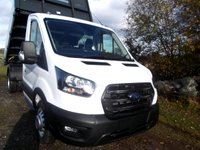2019 FORD TRANSIT 350 MWB CHOICE OF Transit New Model Tipper 130 Eco Blue new shape DRW, High Vis Ice 17 Tow axle  £23950.00