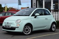 USED 2014 14 FIAT 500 1.2 LOUNGE 3d 69 BHP STUNNING FIAT 500 + LOW MILEAGE, MUST BE SEEN!