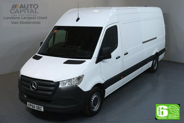 2018 68 MERCEDES-BENZ SPRINTER 2.1 314 CDI 141 BHP LWB HIGH ROOF EURO 6 ENGINE REVERSE CAMERA, KEYLESS, FRONT- REAR PARKING SENSORS