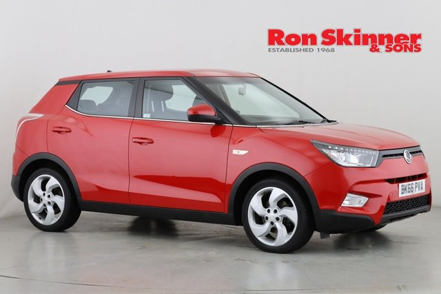 View our 2016 66 SSANGYONG TIVOLI 1.6 EX 5d 113 BHP