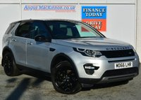 USED 2017 66 LAND ROVER DISCOVERY SPORT 2.0 TD4 HSE BLACK 5d Family 7 Seat 4x4 AUTO with Massive High Spec Recent Service MOT and Ready to Finance and Drive Away Today STUNNING IN INDUS SILVER