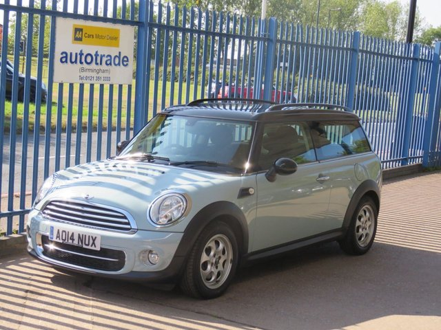 USED 2014 14 MINI CLUBMAN 1.6 COOPER D Clubman 5dr Bluetooth Climate Alloys Finance arranged Part exchange available Open 7 days