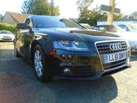 USED 2011 61 AUDI A4 2.0 TDI 4d 134 BHP