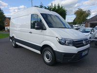 USED 2018 68 VOLKSWAGEN CRAFTER CR35 STARTLINE  MWB HIGHTOP 2.0 TDI 140 BHP Direct From Company With Only 8000 Miles And Balance Of VW Warranty Till September 2021