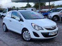 USED 2014 14 VAUXHALL CORSA 1.2 CDTI ECOFLEX S/S 1d 93 BHP Roof Bars, Air Con, Bluetooth Phone Connection, One Owner.
