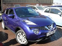 USED 2018 67 NISSAN JUKE 1.6 N-CONNECTA XTRONIC 5d AUTO 117 BHP ANY PART EXCHANGE WELCOME, COUNTRY WIDE DELIVERY ARRANGED, HUGE SPEC