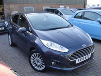USED 2013 13 FORD FIESTA 1.5 TITANIUM TDCI 5d 74 BHP ANY PART EXCHANGE WELCOME, COUNTRY WIDE DELIVERY ARRANGED, HUGE SPEC