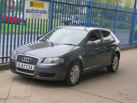 USED 2007 57 AUDI A3 1.6 SPECIAL EDITION 8V 3dr Air con Privacy Alloys