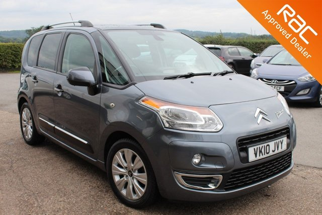 USED 2010 10 CITROEN C3 PICASSO 1.6 PICASSO EXCLUSIVE 5d 120 BHP VERY HIGH SPECIFICATION