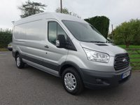 USED 2018 68 FORD TRANSIT 350 TREND L3 H2 LWB MEDIUM HIGHTOP 2.0TDCI 130BHP EURO 6 Higher Specification Trend Model With Additional Air Con & Balance Of Fords Warranty Till November 2021!