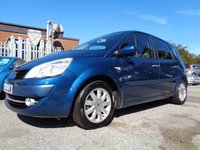 USED 2008 58 RENAULT SCENIC 1.6 DYNAMIQUE VVT 5d 111 BHP CLEAN AND TIDY MPV