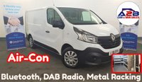 USED 2016 16 RENAULT TRAFIC 1.6 SL27 BUSINESS DCI 115 BHP with AIR CONDITIONING, Bluetooth, DAB Radio, Sortimo Metal Racking Installed and more ** Drive Away Today** Over The Phone Low Rate Finance Available, Just Call us on 01709 866668 **