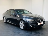 USED 2014 64 BMW 5 SERIES 2.0 520D M SPORT 4d AUTO 181 BHP LOW MILES + SERVICE HISTORY + WIDE SCREEN NAV + FINANCE AVAILABLE